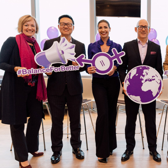 Global diversity and Asia leaders gather in Hong Kong for International Women's Day.