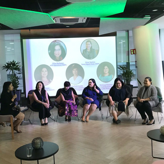 The Global Women's Alliance Phillippines hosts The LeadHER Talk.