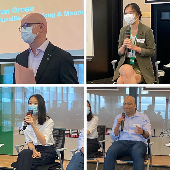 AMP hosts a forum discussion with prominent Manulife Asia leaders.